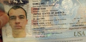 ID page of my passport